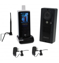 UltraCom Wireless Video Intercom, Wall Mounting Aerial & Caller Station Power Supply