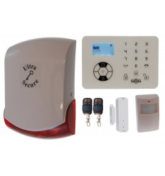 KP9 'Bells Only' Wireless DIY Burglar Alarm Kit A Pro
