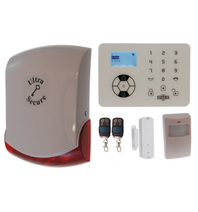 KP9 Bells Only Wireless Burglar Alarm Kit A Pro