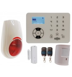 KP9 Bells Only Pet Friendly Wireless Burglar Alarm Kit C Plus