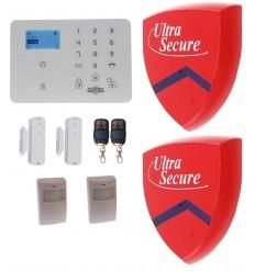 KP9 3G GSM Alarm Kit B with Dummy Alarm Boxes