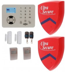 KP9 Bells Only Wireless Burglar Alarm Kit E