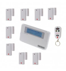 8 Channel Wireless Door Chime & Alarm with optional Auto-Dialler.