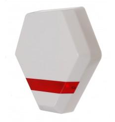 Compact Solar Powered Dummy Alarm Siren