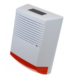 Large Solar Powered Dummy Alarm Siren