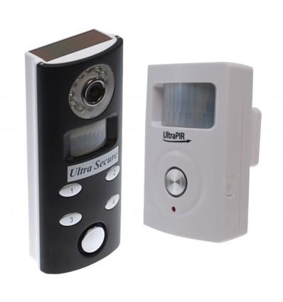 3G UltraPIR GSM Alarm with Battery Video Recording Alarm.