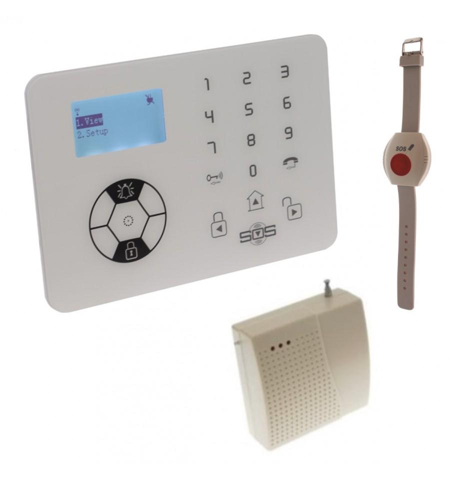 KP9 Siren Only Wireless 100 metre Staff Panic Alarm Kit B