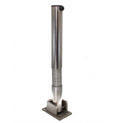 Bendy Fold Down Stainless Steel Parking Post