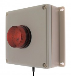 Additional 100 metre Wireless Control Panel Assembly with Buzzer & Flashing LED Strobe