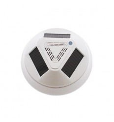 Solar Technology Wireless Smoke Detector