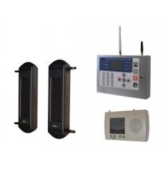 1B Solar Wireless Perimeter Alarm & KP GSM Auto-Dialler