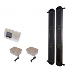 3B Solar Wireless Perimeter Alarm System with additional Power Packs