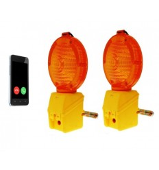 Covert GSM Scaffold Lamp Alarm & Working Scaffold Lamp