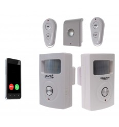 Two Room 3G UltraPIR GSM Alarm & Extra Siren