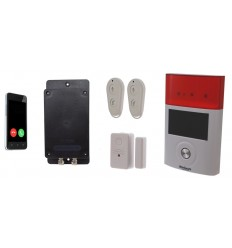 UltraDIAL Battery Covert GSM Alarm with 1 x Magnetic Contact & Outdoor Wireless Siren