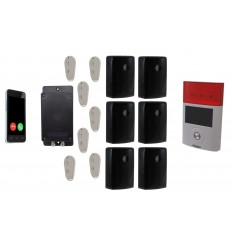 'The UltraDIAL' Battery Covert GSM Alarm with 6 x Outdoor PIR's & Solar Siren