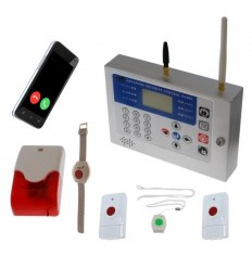 KP GSM Staff Safety & 4 x Various Panic Buttons
