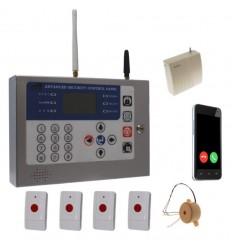 Long Range Wireless KP GSM Wireless Panic Alarm & Internal Siren