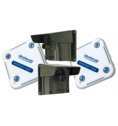 Protect-800 Long Range Wireless Driveway Alert Twin PIR Kit