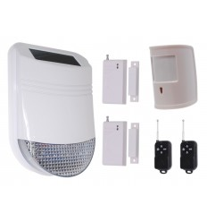 HY Solar Wireless Siren House Alarm Kit 5