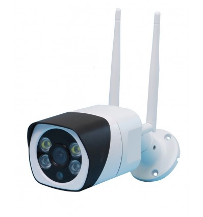 EW12 External Wi-Fi (IP) CCTV Camera with 2-way Audio, 1080P, Recording, 20 metre Night Vision, Light & Siren