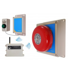 Extra Long Range (1800 metre) Warehouse Wireless 'S' Bell System 2