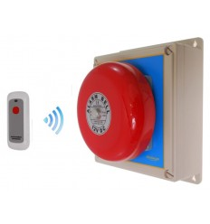 Long Range (900 metre) Wireless Bell Receiver with Internal Push Button