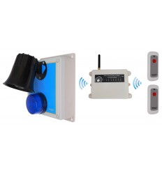 1800 metre Wireless SOS & Lockdown Panic Siren Alarm