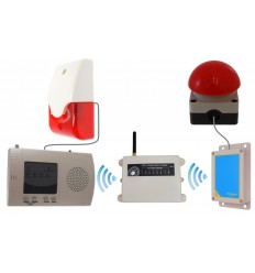 Extra Long Range (1800 metre) Long Range Wireless Panic Alarm (activity centre special)