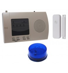 300 metre Wireless S Range Door Alerts with Flashing LED