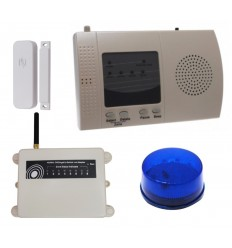 1200 metre Wireless S Range Door Alerts with Flashing LED
