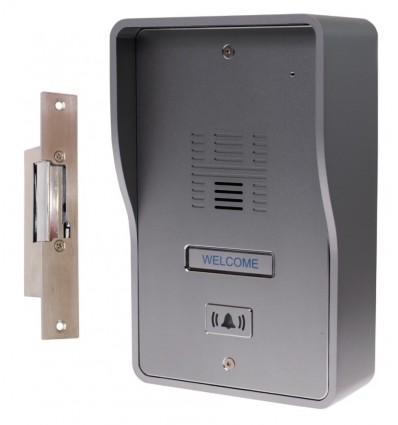 3G GSM Audio Intercom with Electric Door Latch (fail safe model)