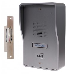 3G GSM Audio Intercom with Electric Door Latch (fail safe model)
