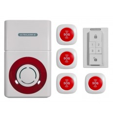 Battery Powered 3G GSM SOS Panic Alarm Ultralarm