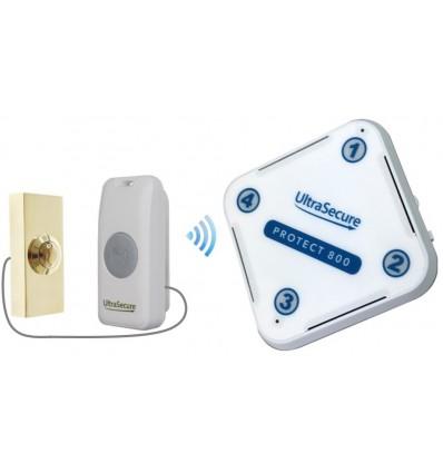 Long Range Wireless Doorbell Brass Push Button