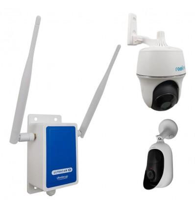 4G Wireless UltraCAM CCTV Camera Kit for Remote Buildings