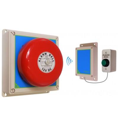 Long Range Wireless Warehouse /'S/' Bell System /& Internal Push Button 900 Metre