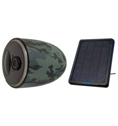 Battery 4G CCTV Camera with Solar Panel & 16 GB SD Card