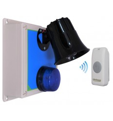 Protect 800 Long Range Loud 118 Decibel Wireless Siren Kit