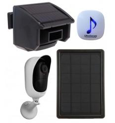DA600 Wireless Garden & Driveway Alarm with Battery Wifi Camera