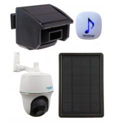 DA600 Wireless Garden & Driveway Alarm with Solar P + T Wifi Camera