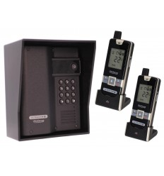 Wireless UltraCOM2 Gate Intercom with Keypad & 2 x Portable Handsets