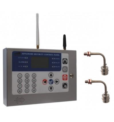 2 Level GSM Water Float Alarm