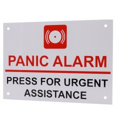 Panic Alarm, Press for Urgent Assistance