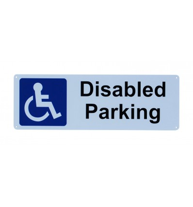 Disabled Parking Wall Sign