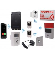 Mains Powered UltraDIAL 3G GSM Shed Alarm Kit