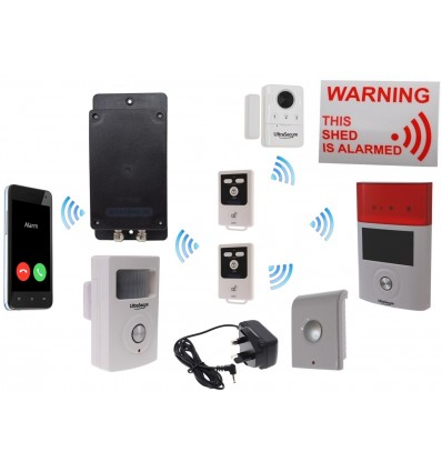 Mains powered UltraDIAL 3G GSM Shed Alarm
