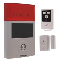BT Wireless Door Alarm & External Solar Siren