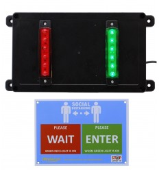 Budget Wireless Door Entry Lighting Control System