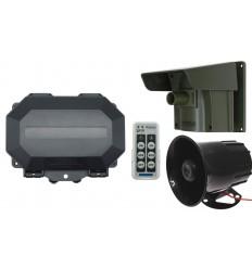 Long Range Driveway PIR Alarm with Outdoor Receiver & Loud 118 dB Siren